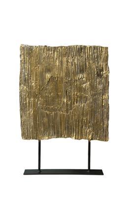 Isabelle de Borchgrave Ecran plisse bronze 45x35 5000EUR