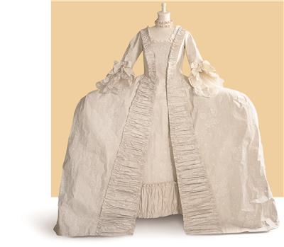Isabelle de Borchgrave Paper Dresses 5527