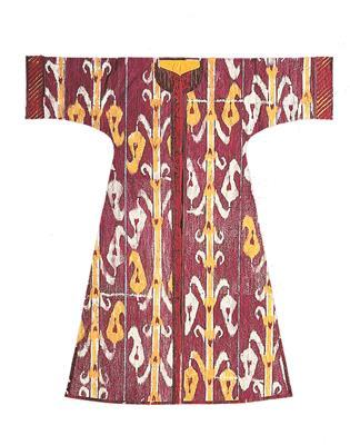 Isabelle de Borchgrave Paper Dresses 6947 PUNNEH Bourgeon recto
