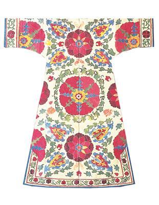Isabelle de Borchgrave Paper Dresses 6955 BAHAR Printemps verso