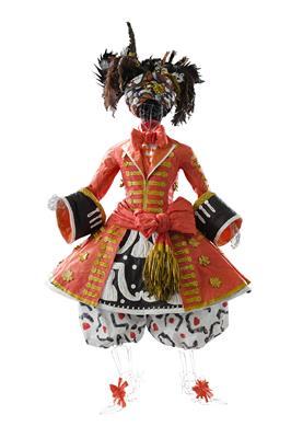 Isabelle de Borchgrave Paper Dresses 8781c