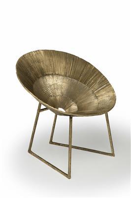 Isabelle de Borchgrave Fauteuil Bronze Or prof72 larg78 ht82 assise44 14000EUR