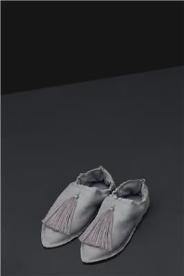 Valerie Barkowski babouches cotton grey credit tania panova