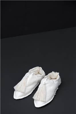 Valerie Barkowski babouches cotton offwhite credit tania panova