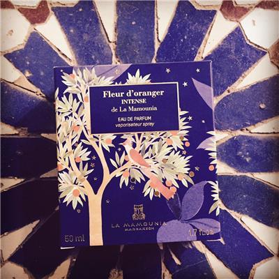 LA MAMOUNIA Fleur d oranger intense eau de parfum box