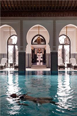 LA MAMOUNIA Indoor Pool 01