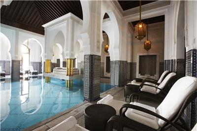 LA MAMOUNIA Indoor Pool 02