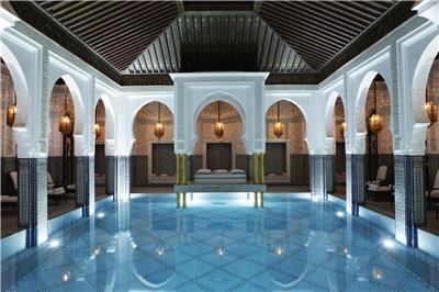 LA MAMOUNIA Indoor Pool 03