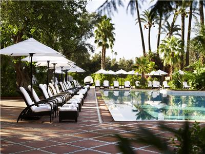 LA MAMOUNIA Outdoor Pool 02