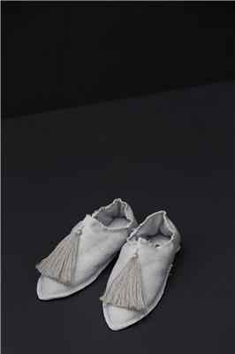 Valerie Barkowski Babouches cotton beige credit tania panova