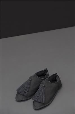 Valerie Barkowski babouches cotton black credit tania panova