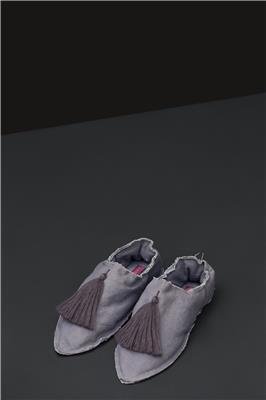 Valerie Barkowski babouches cotton grey pink credit tania panova